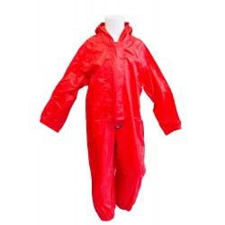 Red Waterproof Suit